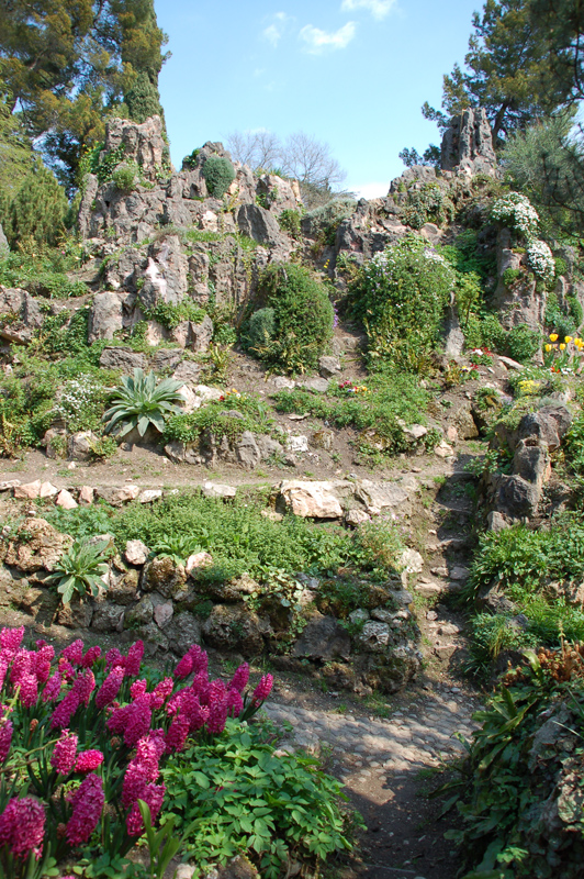Der Garten ...