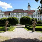 Der Garten der Klosterkirche Fürstenfeld (Fürstenfeldbruck)