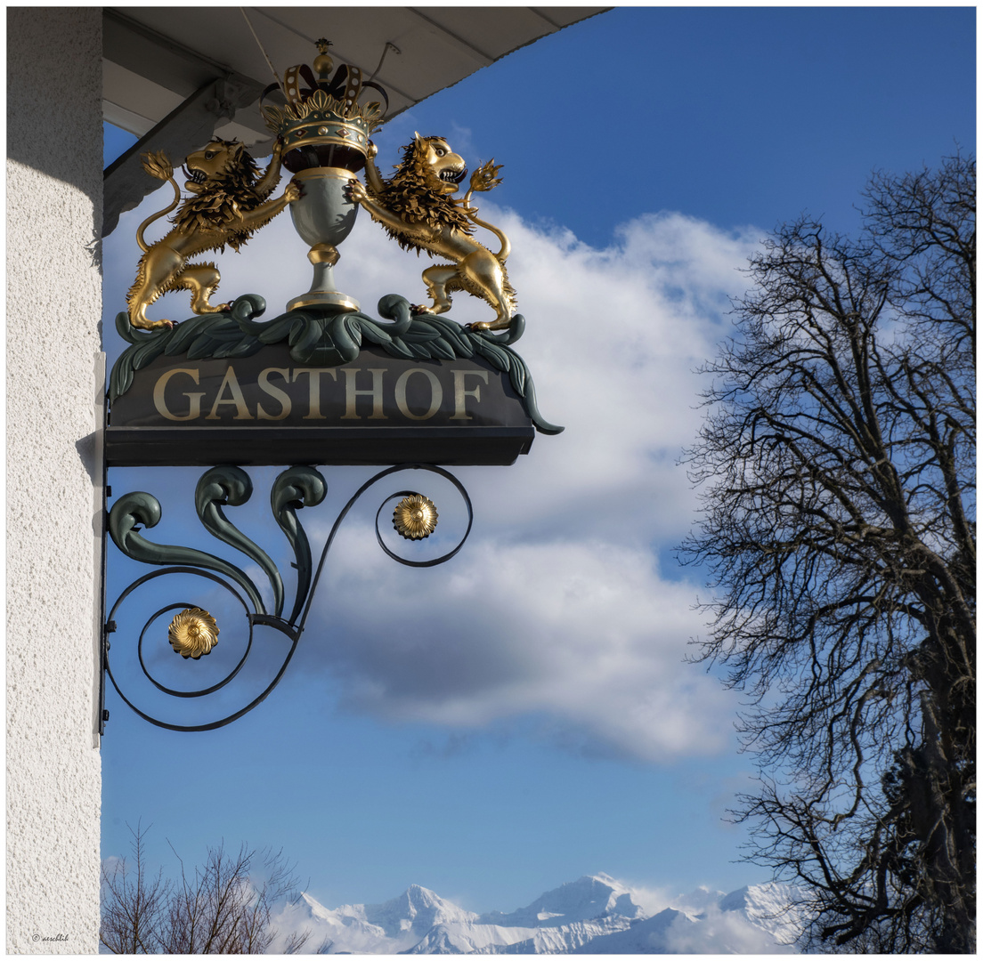 Der Gasthof Löwen...