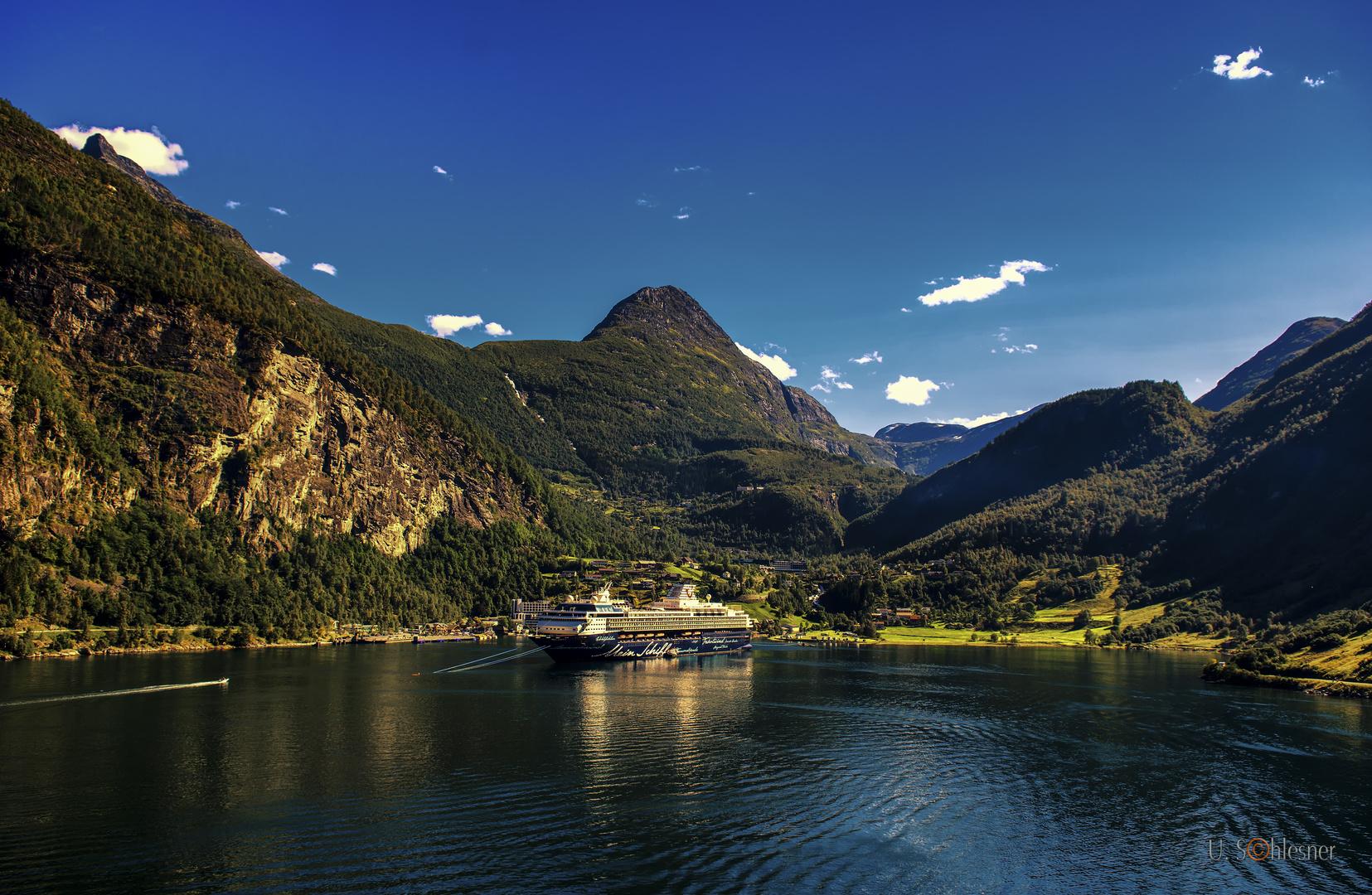- Der Geirangerfjord -