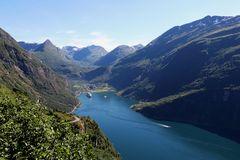 Der Geirangerfjord