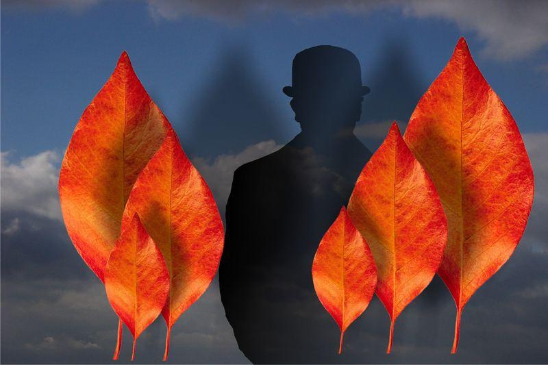Der Geist von Magritte...