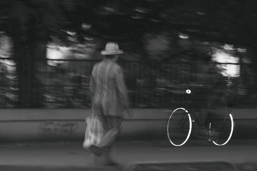 Der Geisterfahrradfahrer