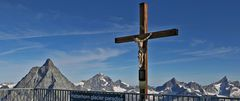 Der Gekreuzigte auf dem Kleinmatterhorn in knapp 3900m...