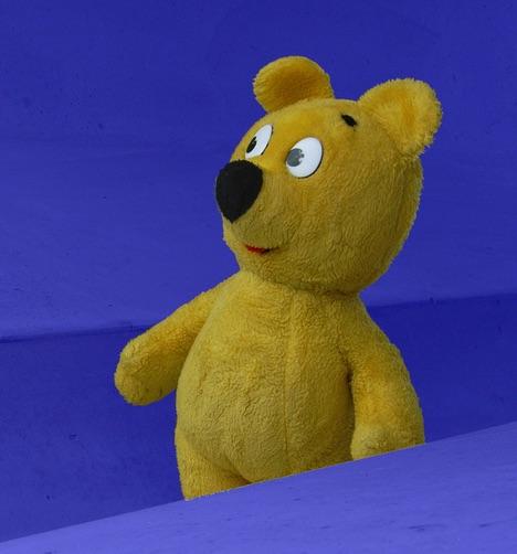 Der gelbe Bär