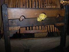 Der gelbe Bär auf dem Mittelaltermarkt (3)