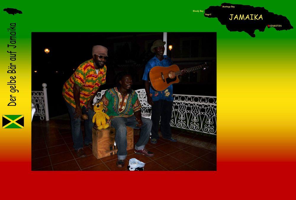 Der gelbe Bär auf Jamaika - Musik