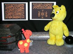 Der gelbe Bär auf Planet PH413 -1-
