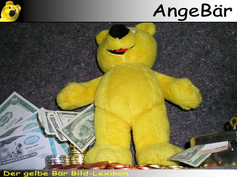 Der gelbe Bär Bild-Lexikon - AngeBär