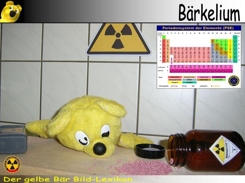 Der gelbe Bär Bild Lexikon - Bärkelium