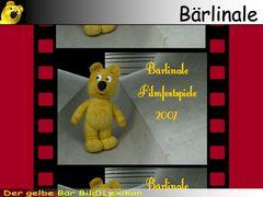 Der gelbe Bär Bild-Lexikon - Bärlinale