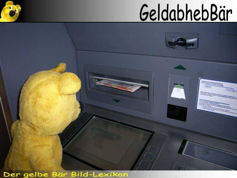 Der gelbe Bär Bild-Lexikon - GeldabheBär