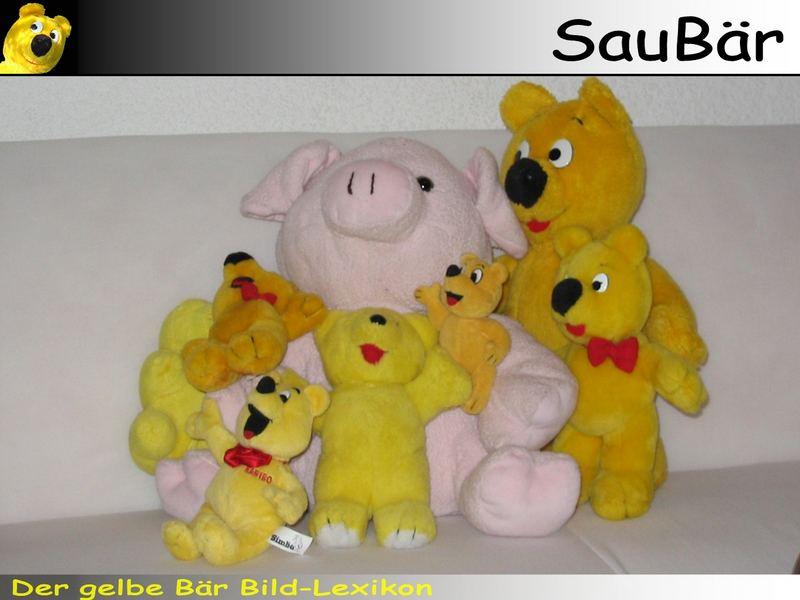 Der gelbe Bär Bild-Lexikon - SauBär
