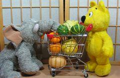 Der gelbe Bär - Einkaufen mit Hindernissen (2)