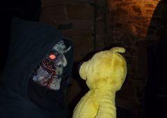 Der gelbe Bär Halloween 2010
