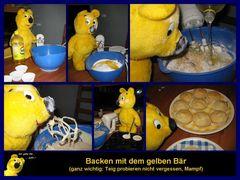 Der gelbe Bär hilft... Muffins backen