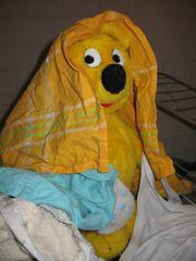Der gelbe Bär hilft...bei der Wäsche(1)