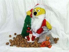 Der gelbe Bär hilft...dem Nikolaus