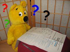 Der gelbe Bär hilft...Wählen (1)