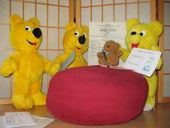 Der gelbe Bär hilft...Wählen (2)