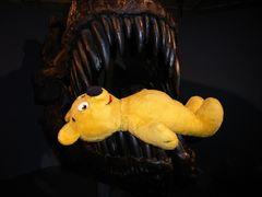Der gelbe Bär im Museum (2)