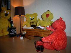 Der gelbe Bär in der Zockerhöhle