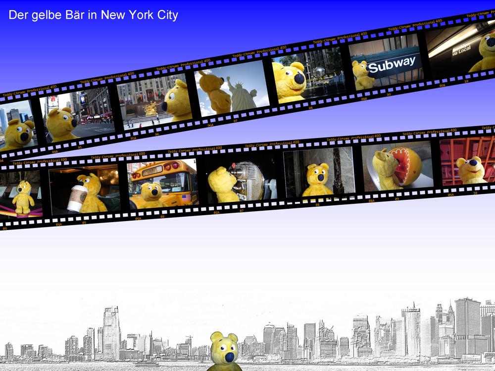 Der gelbe Bär in New York
