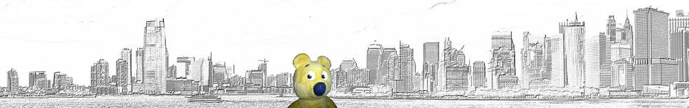Der gelbe Bär in New York - Ankündigung
