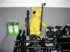 Der gelbe Bär macht Pause...