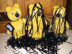 Der gelbe Bär mit Bandsalat
