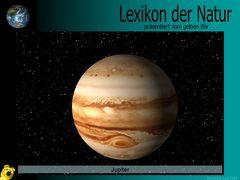 Der gelbe Bär Naturlexikon - Planeten - Jupiter