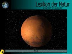 Der gelbe Bär Naturlexikon - Planeten - Mars