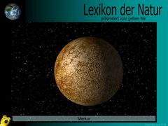 Der gelbe Bär Naturlexikon - Planeten - Merkur