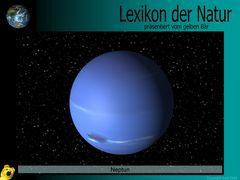 Der gelbe Bär Naturlexikon - Planeten - Neptun