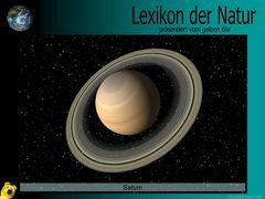 Der gelbe Bär Naturlexikon - Planeten - Saturn