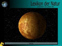 Der gelbe Bär Naturlexikon - Planeten - Venus