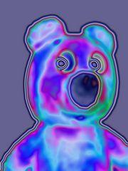 Der gelbe Bär - spektralkulär