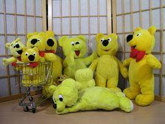 Der gelbe Bär und seine gelben Freunde
