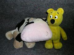 Der gelbe Bär und seine große Liebe