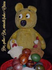 Der gelbe Bär wünscht Euch schöne und entspannte Ostertage