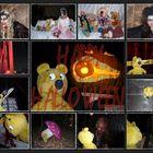 Der gelbe Bär wünscht HAPPY HALLOWEEN