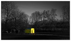 der gelbe Bauwagen