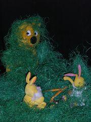 Der gelbe hilft...Beweise für den Osterhasen