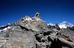Der Gipfel des Gokyo Ri ist bald erreicht