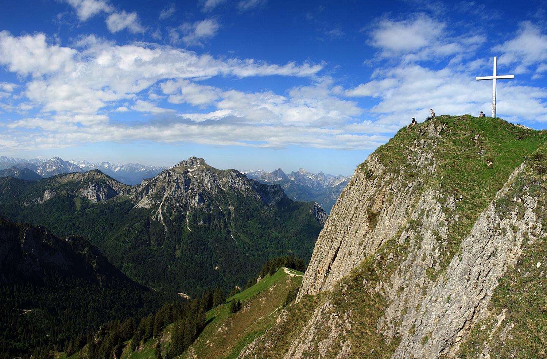Der Gipfel vom Tegelberg!