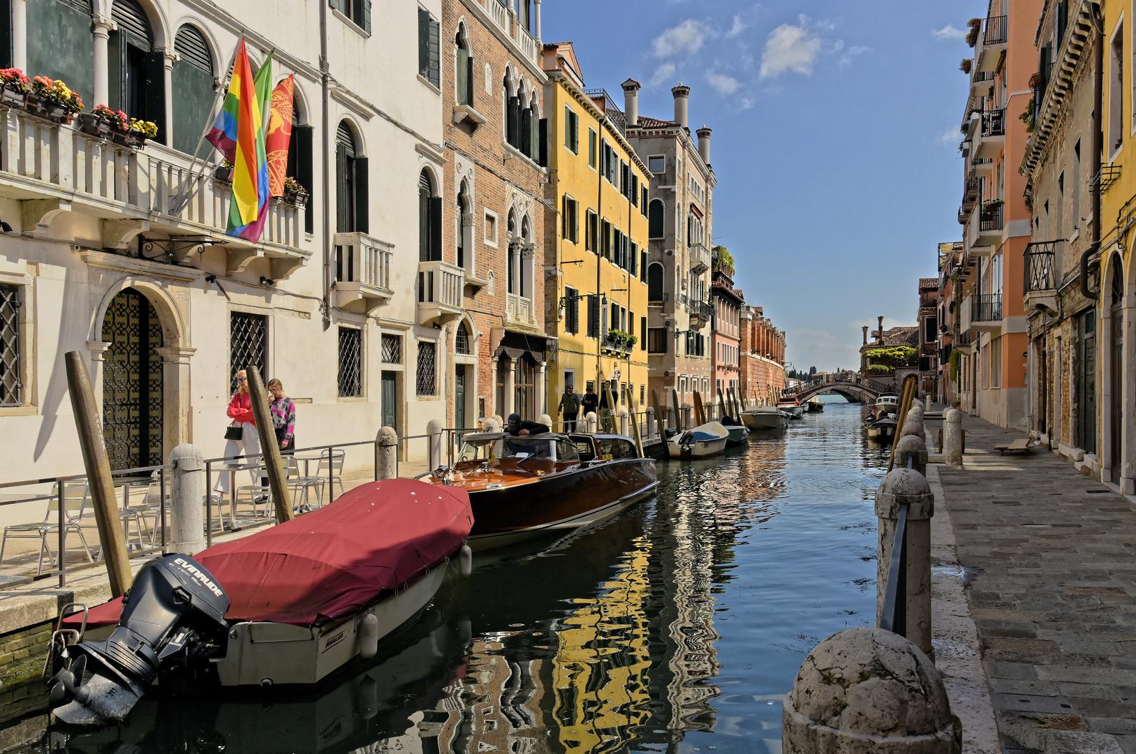 Der gläserne Kanal - Venedig -