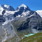 Der Gletscher schmilzt