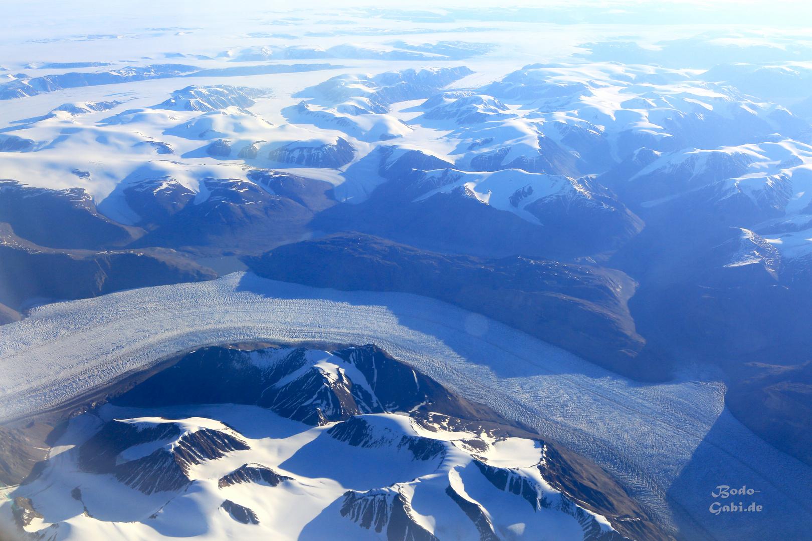 Der Gletscherfluss