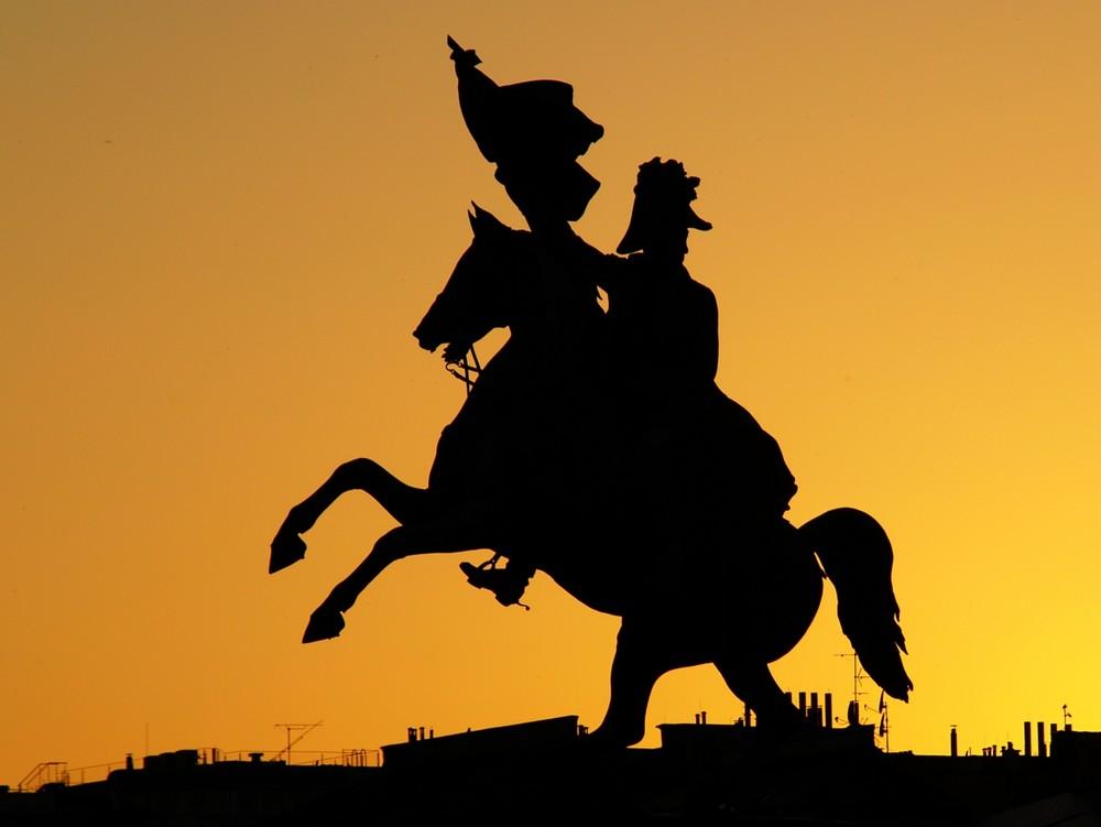 Der goldene Reiter...
