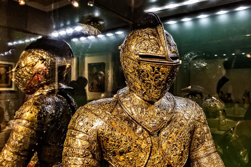 ... der goldene Ritter ...